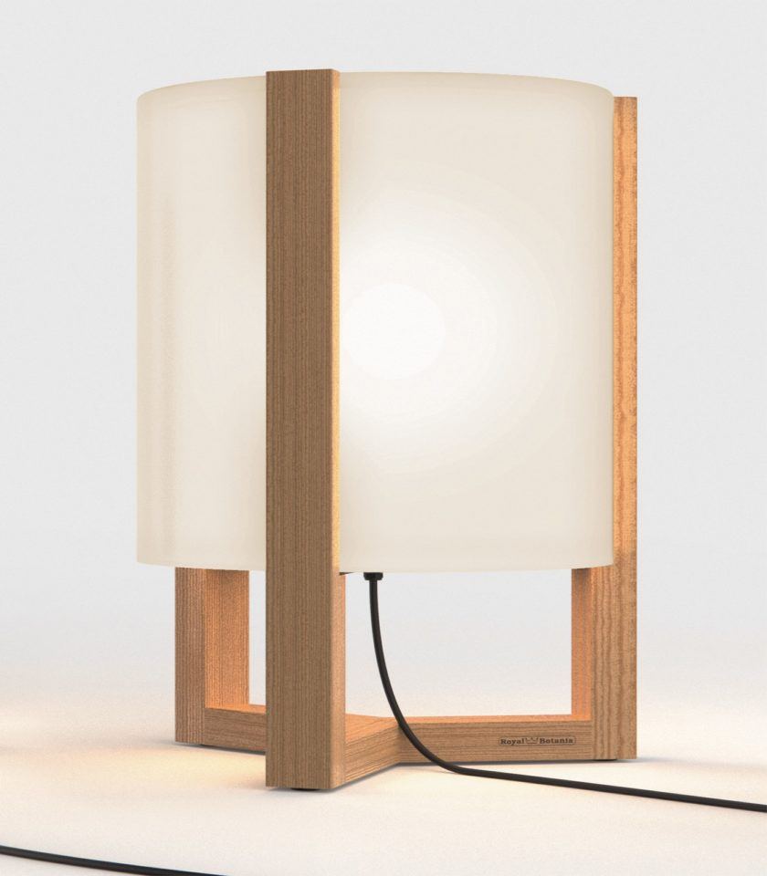 Large Opal Tristar floor lamp by Royal Botania distributed in Australia by LightCo