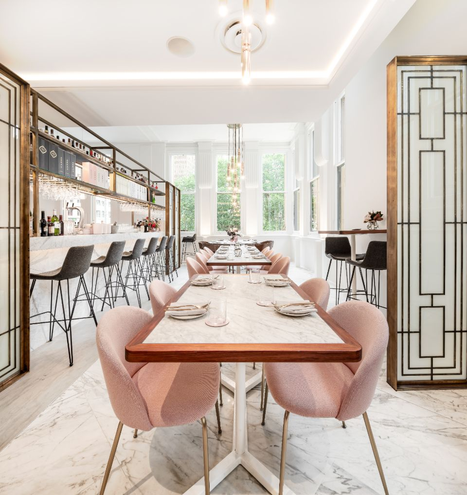 Reign QVB restaurant designed by Guru Projects, lighting by LightCo