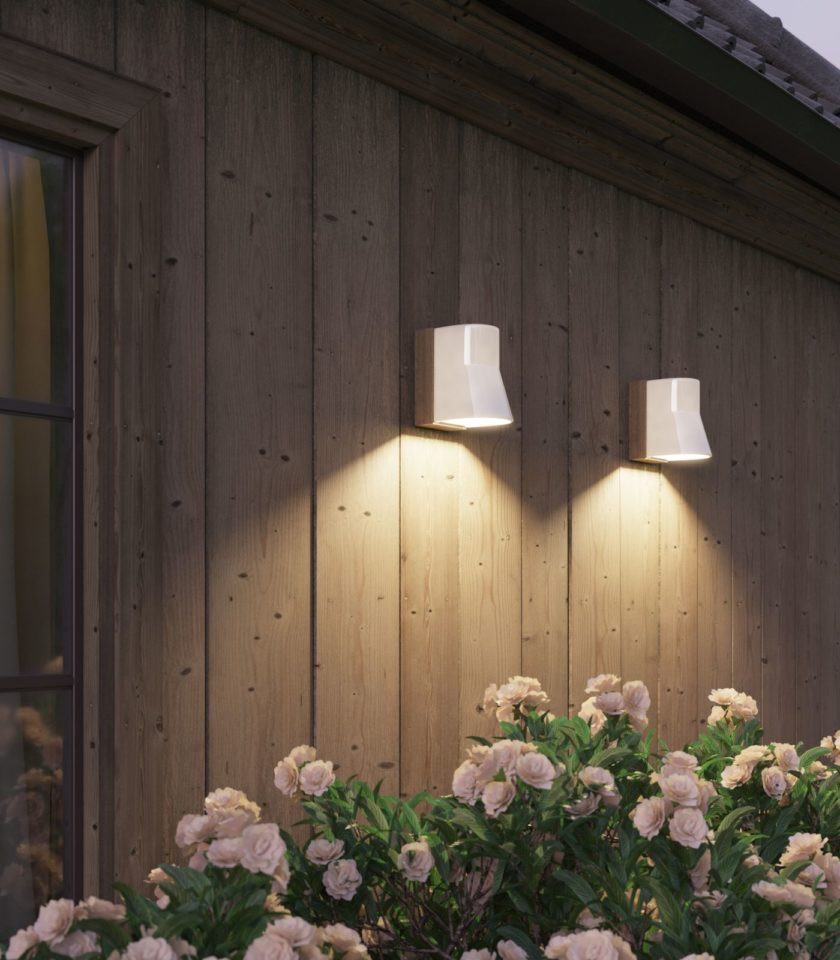 White Beacon Wall light by Tala distributed in Australia by LightCo