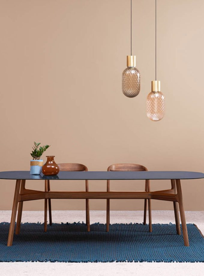 Bloom Pendant Light by Il Fanale displayed above a dining table